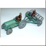 Pure Rubber Products Ferguson Tractor & Hay Rake