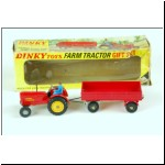 Dinky Gift Set No.399 Farm Tractor and Trailer