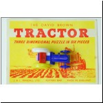 Merit David Brown Tractor Puzzle