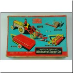 Mettoy Mechanical Tractor Set